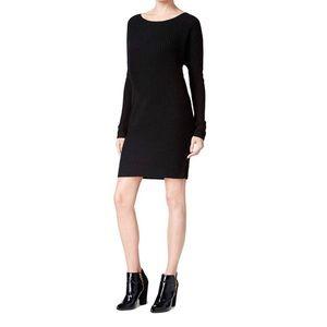 NWT Bar III Black Dolman Oversized Sweater Dress